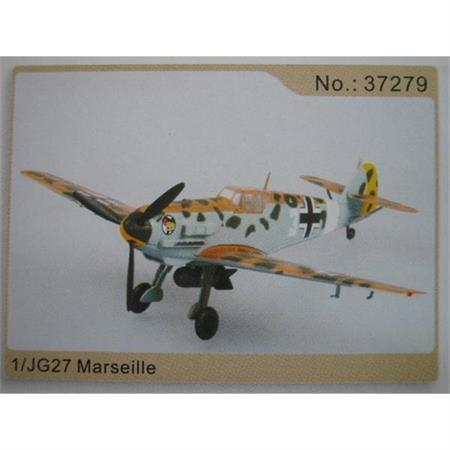 Bf-109E/Trop  1. JG 27 Marseille