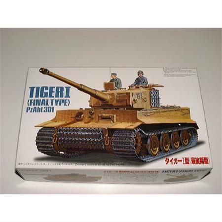 Tiger I Final Type, Pz.Abt.301