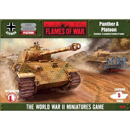 Flames Of War: Panther A Platoon