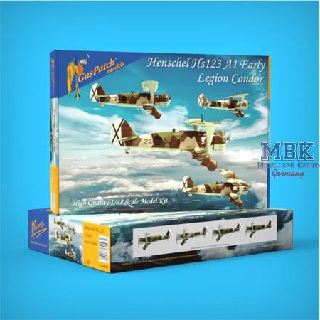 Henschel HS 123 A1 Legion Condor 1/48