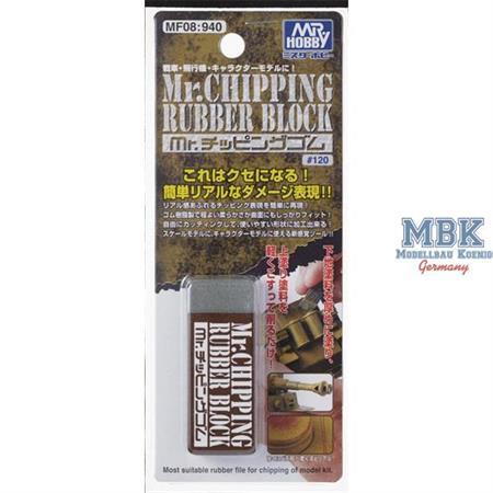 MF-08 Mr Chipping Rubber Block
