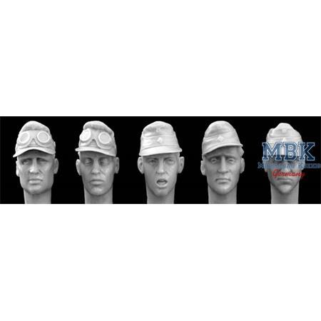5 Heads DAK or 2. SS camo Cap