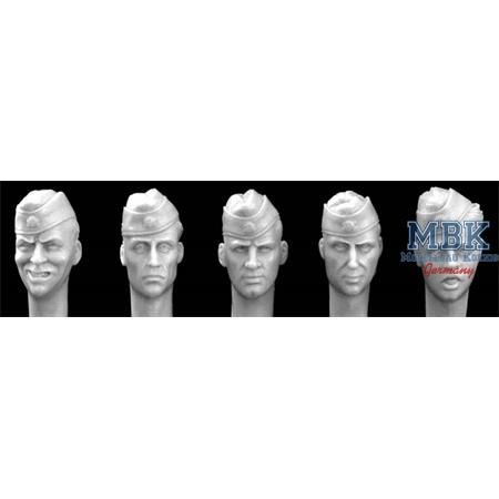5 Heads German Heads with Sidecaps