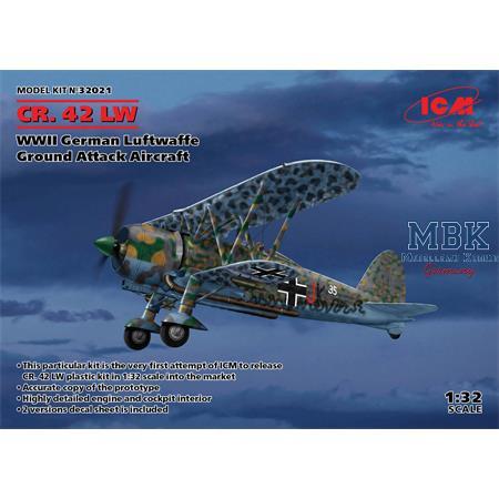 CR.42 LW German Luftwaffe Ground Attack Aircraft
