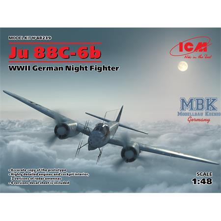 Ju 88C-6b WWII German Heavy Fighter