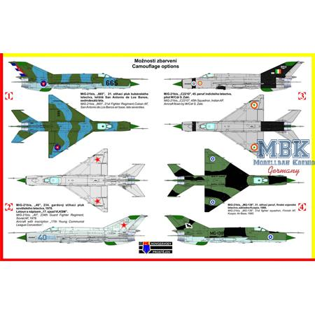 "Mikoyan MiG-21bis ""Fishbed"" Pt.2 (CUB,RUS,IND,FIN)"