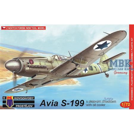 """Avia S-199 """"With oil cooler"""""""