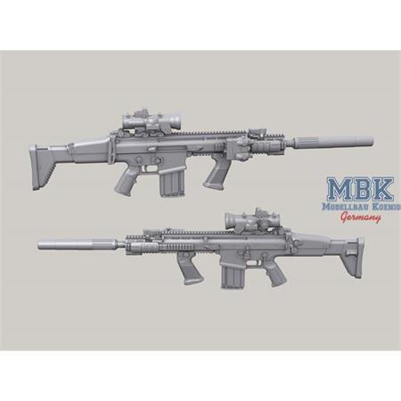 FN SCAR Mk.17 set  1/35