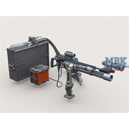 M134D Minigun Basic Set #1 w/4,000rd Ammo Box