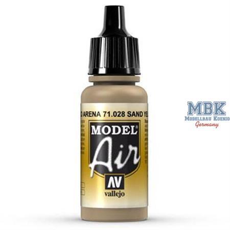 MA028 Sand Yellow - Sandgelb Modell Air