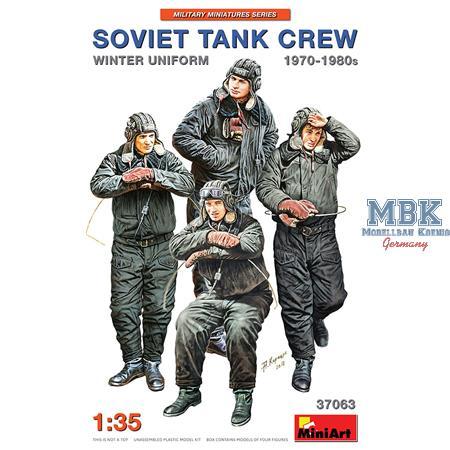 SOVIET TANK CREW 1970-1980s. WINTER UNIFORM