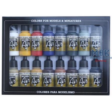 Model Air Set Basisfarbe (16 Stück)
