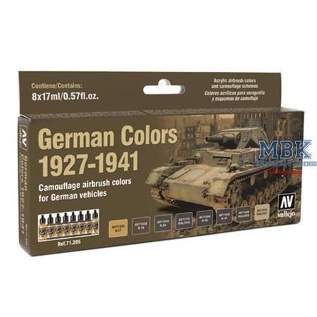 MA71205 German Vehicles Colors 1927-1941