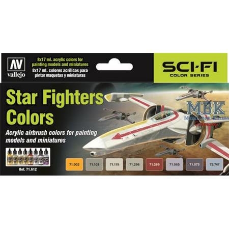 Model Air Set Star Fighters Colors