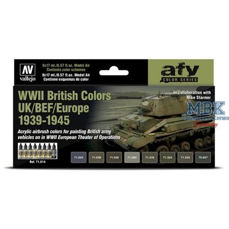 Model Air: WWII British Colors UK/BE/NWE 1939-1945