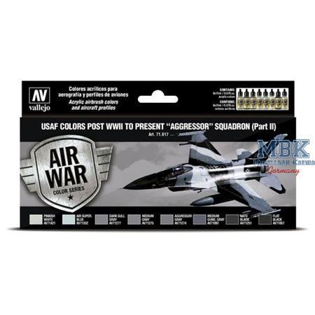 """Model Air: USAF colors """"Aggressor"""" Squadron II"""