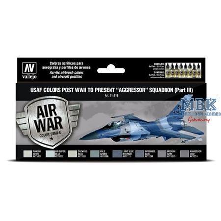 """Model Air: USAF colors """"Aggressor"""" Squadron III"""
