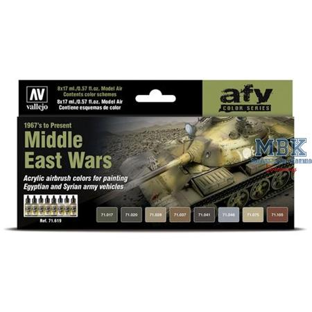 Model Air: Middle East Wars (1967's to Present)