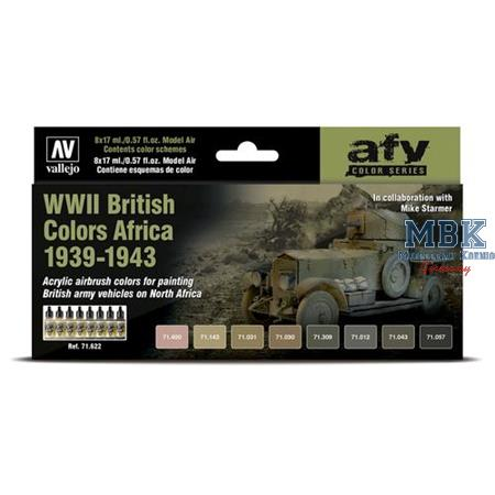 Model Air: WWII British Colors Africa 1939-1943