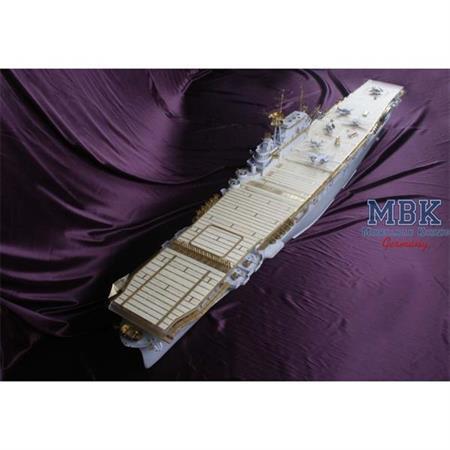 USS HORNET CV-8 (for Merit) WOODEN DECK