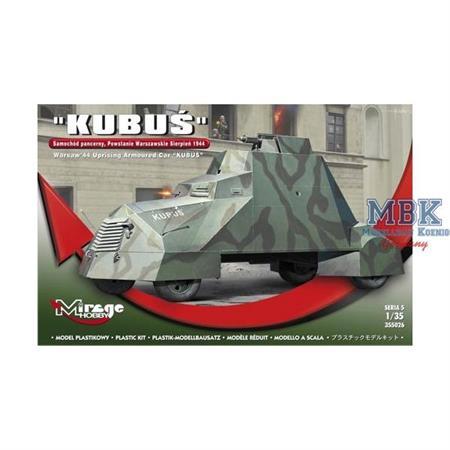 KUBUS Armored car - Warschauer Aufstand 1944