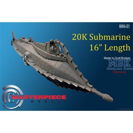 Submarine Nautilus, 16 inches in length