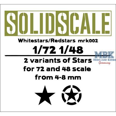US Stern / Star   1/48 + 1/72