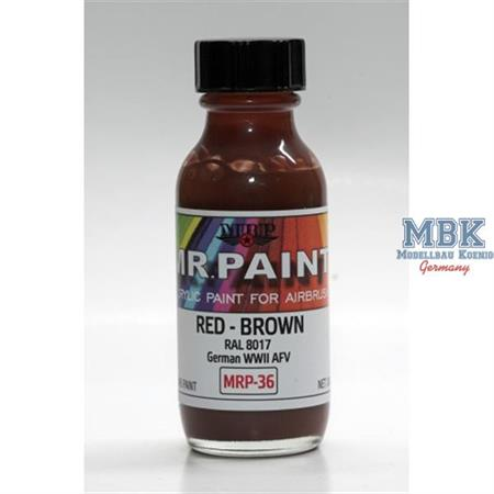 Red Brown (RAL 8017)