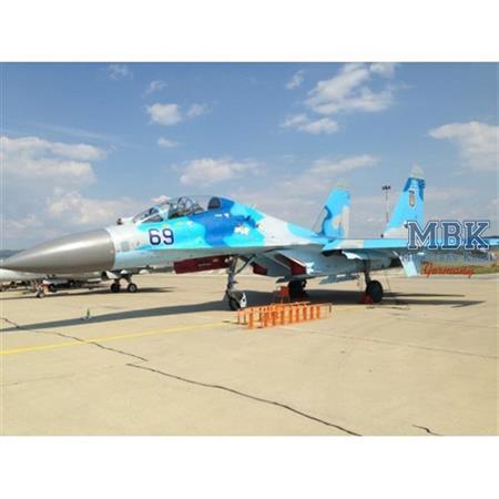 Blue SU-27