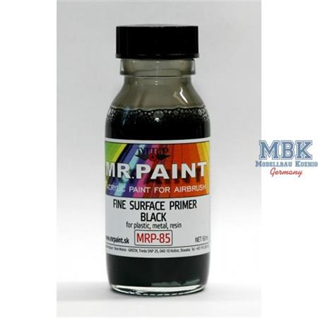 Fine Surface Primer - Black (60ml)