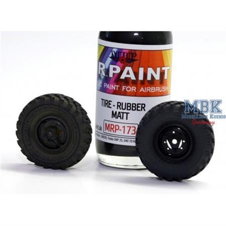 Tyre - Rubber (Matt)