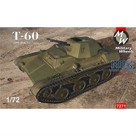 Soviet T-60 (ZSU Flak 12,7 mm)