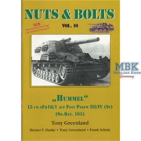 "#10 - Sd.Kfz. 165 - 15 cm sFH 18/1 \""Hummel\"""