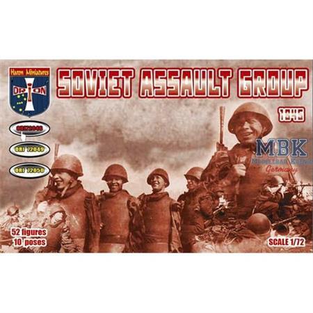 Soviet assault group 1945