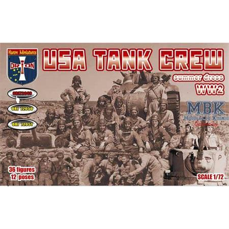 USA Tank Crew (Summer Dress). WW2.