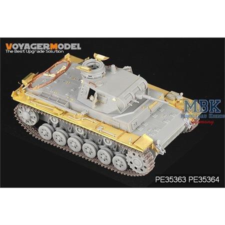 Pz. III Ausf. E-H / Stug III A-E Fender (Dragon)