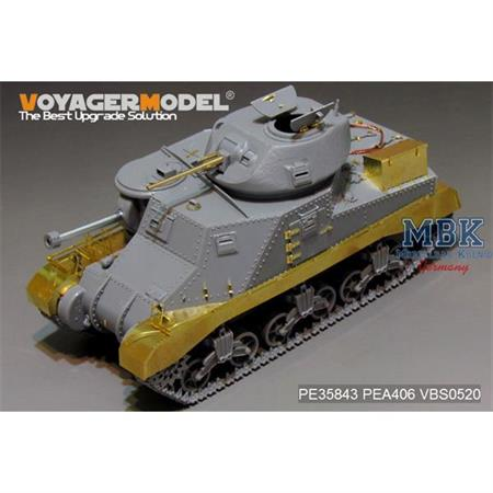 British Grant Medium Tank basic (for TAKOM 2086)