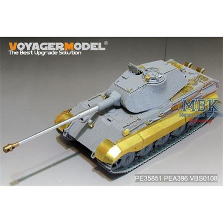 King Tiger (Porsche Turret)(For TAKOM)