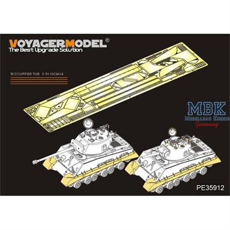 M4A3  HVSS  Fenders/Track Cover(DRAGON 6183 6354)