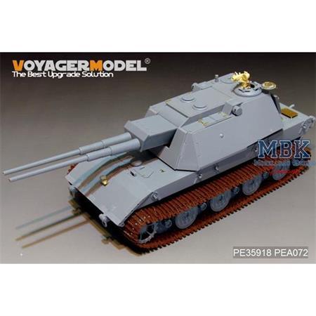 FLAKPANZER E-100 Super Heavy Tank (AMUSING HOBBY)
