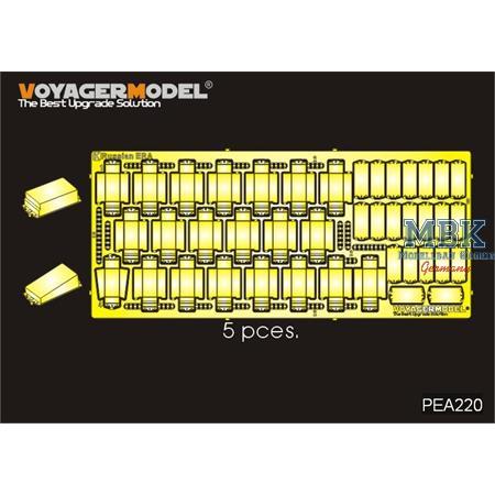 Modern russian AFV ERA Bricks (105 Stk)