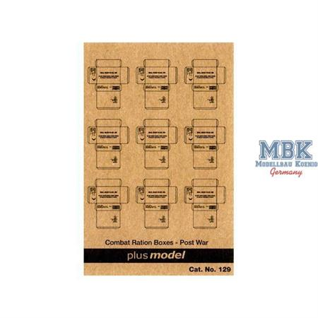U.S. Cardboard Boxes - postwar period