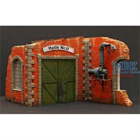 Factory Gate door