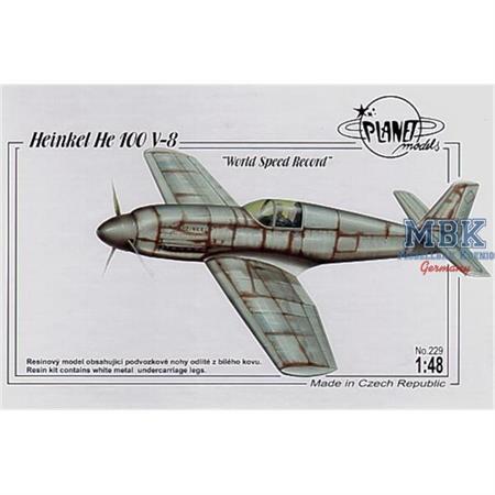 Heinkel He-100V-8 World Speed Record