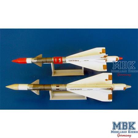 Russian missile R-40R AA-6 Acrid