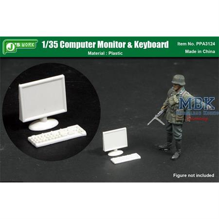 1/35 Monitor and Keyboard Set