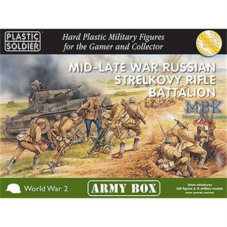 MID/LATE WAR RUSSIAN STRELKOVY RIFLE BATTALION