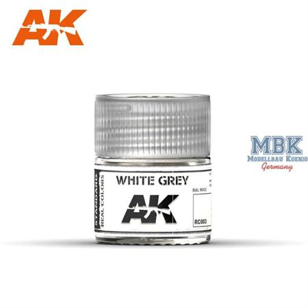REAL COLORS: White Grey 10ml