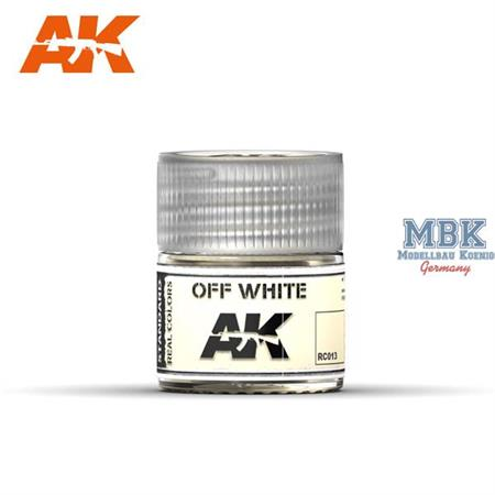 REAL COLORS: Off White 10ml