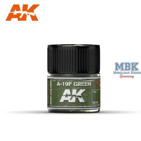 REAL COLORS AIR: A-19F Grass Green 10ml